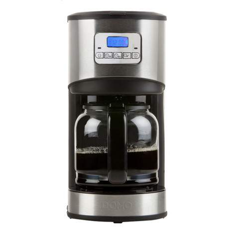 Cafetière - 12 tasses - 1,8L - inox brossé - DOMO DO479K