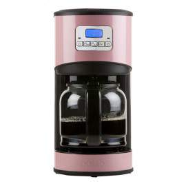Cafetière programmable 12 tasses rose - DOMO DO477K