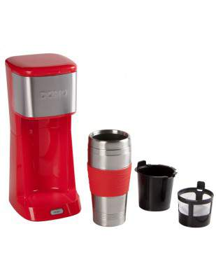 Cafetière mug isotherme My Coffee 400 ml rouge - DOMO DO438K