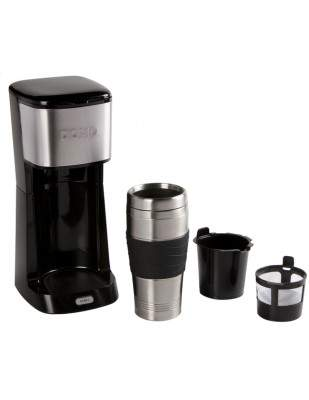 Cafetière mug isotherme My Coffee 400 ml noire - DOMO DO437K