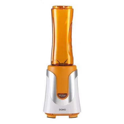 My blender orange + 2 gourdes 300/600ml - DOMO DO435BL