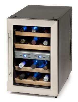 Cave à vin 2 zones 12 bouteilles  - DOMO DO909WK
