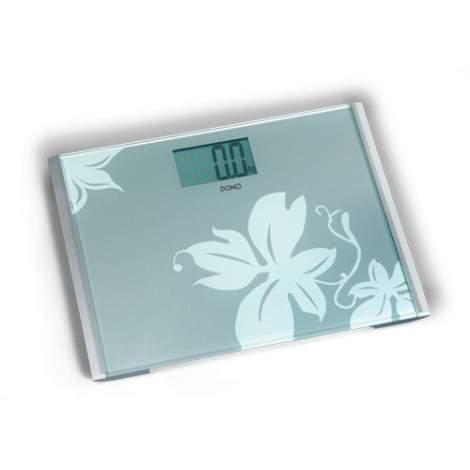 Pèse personne - verre - 200kg - DOMO DO9088W