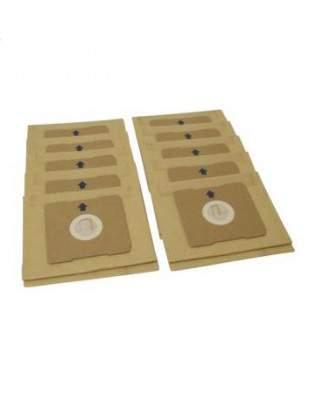 Blister de 10 sacs pour aspirateur DOMO DO7283S et DO7284S