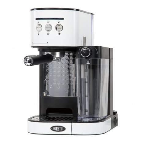 Machine à expresso blanche - Boretti B402