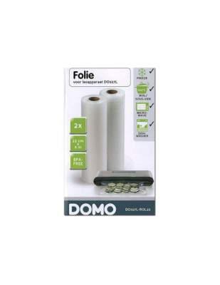 2 rouleaux de plastique 6 m x 22 cm - DOMO DOMO DO327L-20