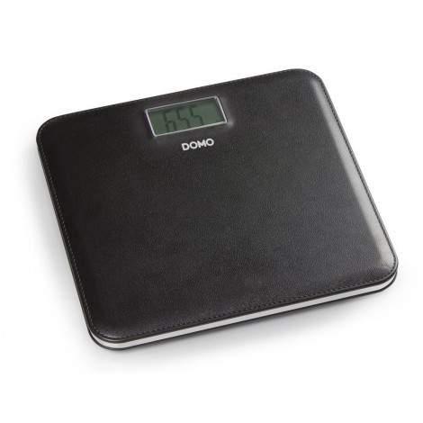 Pèse personne - cuir noir - écran LCD - DOMO DO9161W
