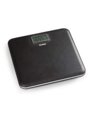 Pèse-personne cuir noir LCD - DOMO DO9161W
