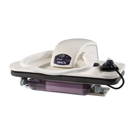 Presse à repasser – débit vapeur 200gr/min – auto-stop – autonomie illimitée - MAC5 SP8000
