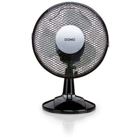 Ventilateur de table 23 cm noir