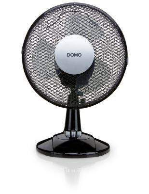 Petit ventilateur de table noir Ø 23 cm - DOMO DO8138