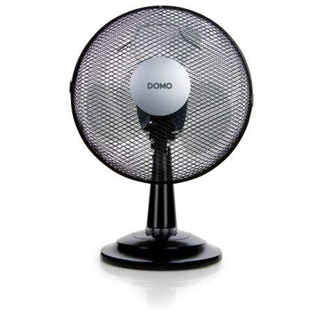 Ventilateur de table 30 cm noir