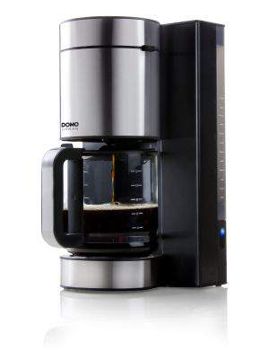 Cafetière filtre 12 tasses inox URBAN - DOMO  DO704K