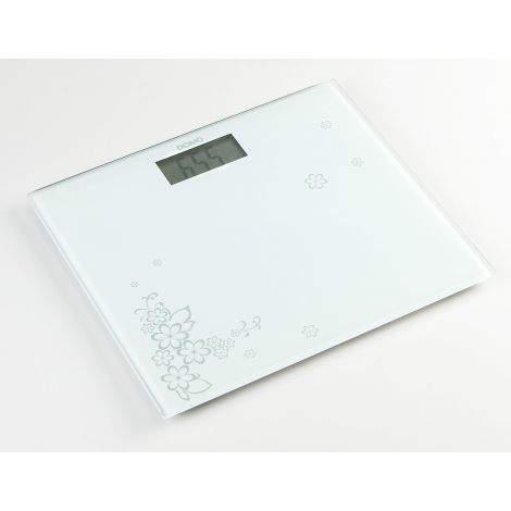 Pèse personne ultra slim - blanc