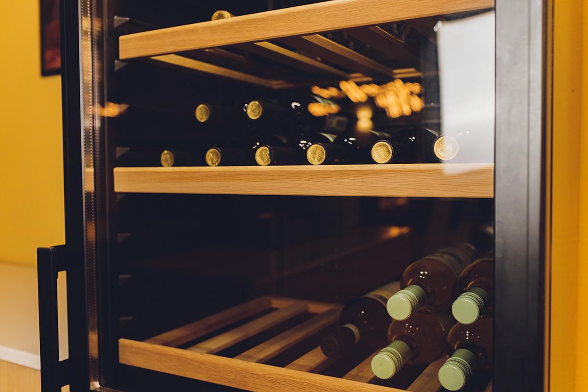 Bouteilles cave à vin