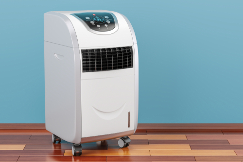 Climatiseur mobile blanc