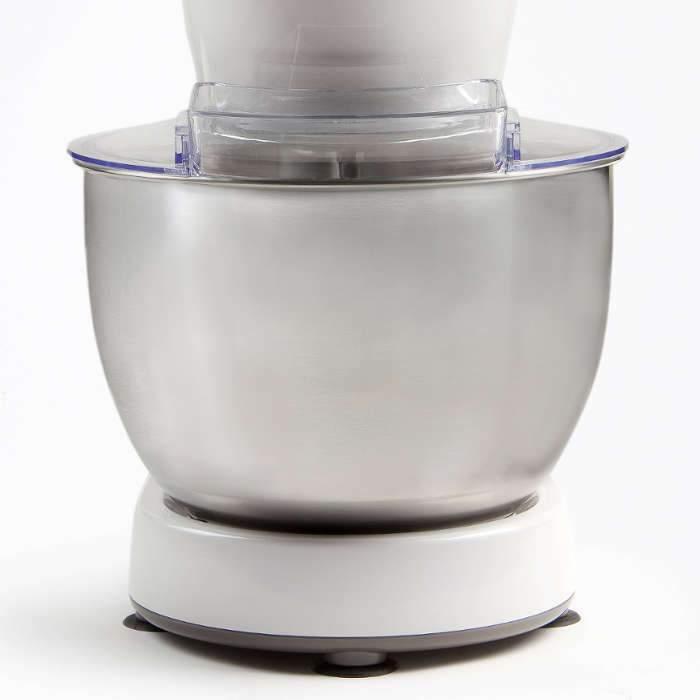 Comment choisir un robot pâtissier - Couvercle anti-projection robot pâtissier DOMO