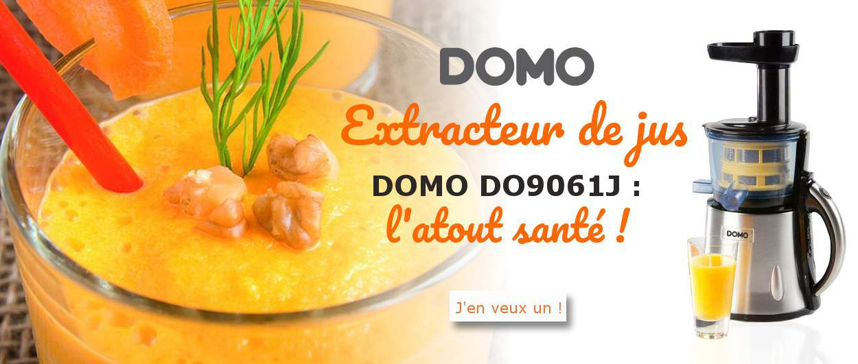 Extracteur de jus DOMO DO9061J