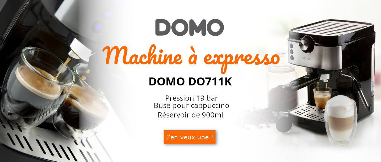 Machine à expresso DO711K de DOMO