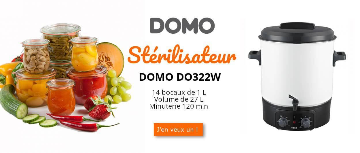 Stérilisateur DOMO DO322W