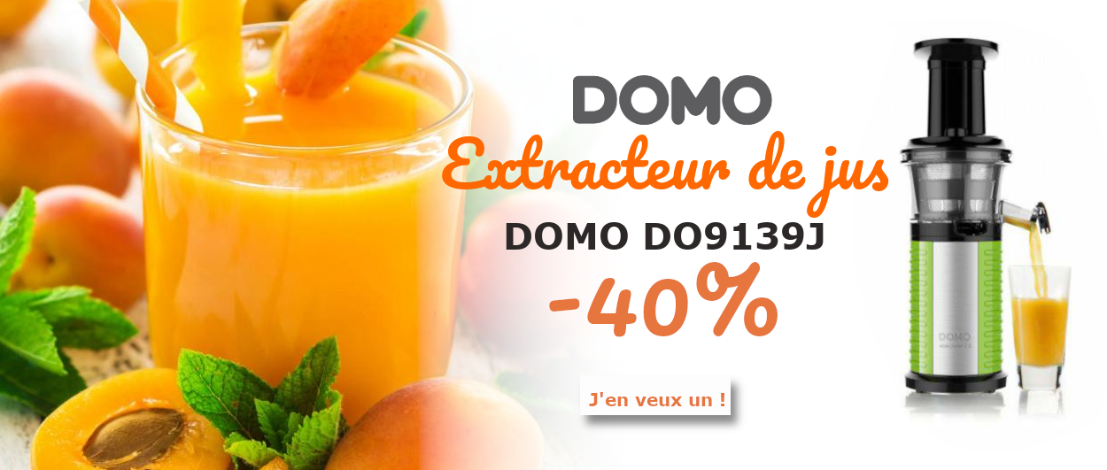 Extracteur de jus DO9139J - 40 %